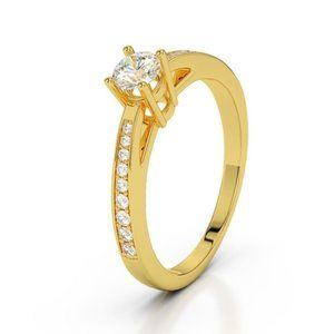 Jewelry - Sparkling prong set 1.50 ct diamonds Engagement ri